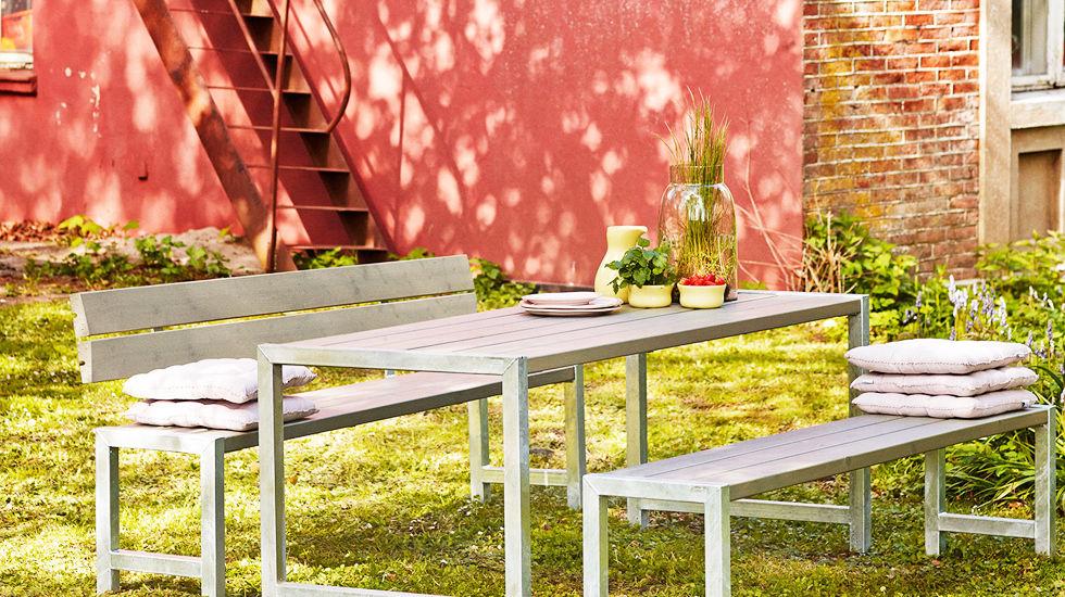 Plus Set Sitzgruppe Planken