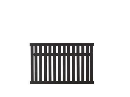 Plus Country Zaun schwarz grundiert 150 x 96 cm