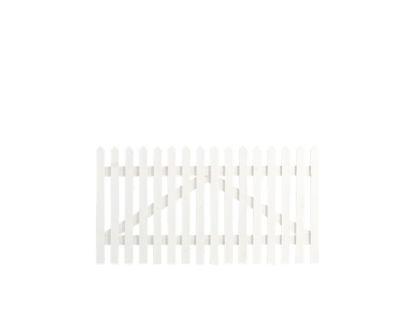 Plus Skagen Einzeltor weiss grundiert 150 x 80 cm
