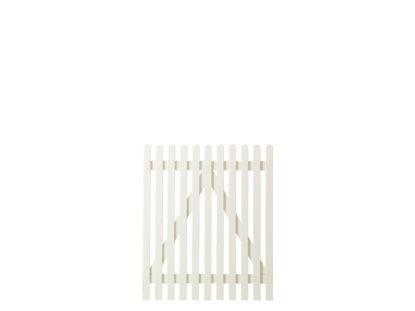 Plus Retro Einzeltor weiss grundiert 100 x 120 cm