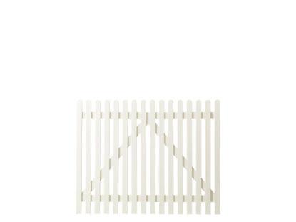 Plus Retro Einzeltor weiss grundiert 150 x 120 cm