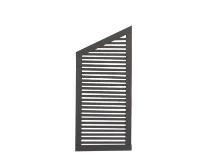 Plus Silence Übergangselement anthrazit grundiert 64 x 140 / 110 cm