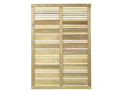 Plus Silence Sichtschutz-Zaun druckimprägniert 120 x 170 cm