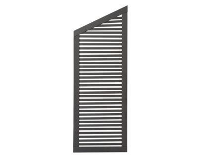 Plus Silence Übergangselement anthrazit grundiert 64 x 170 / 140 cm