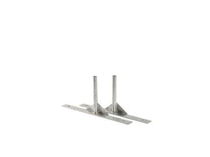 Plus Stützfuss für Trend Zaun 20 x 4 cm