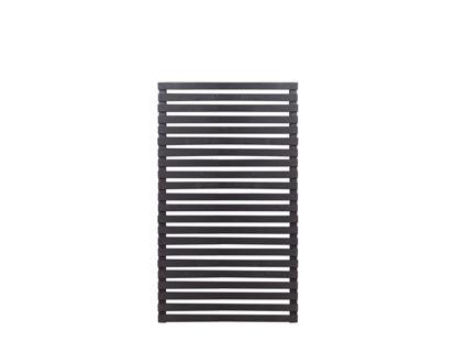 Plus Tokyo Zaun schwarz 83 x 140 cm halbhohes Element