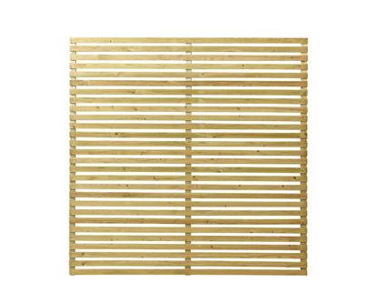 Plus Tokyo Sichtschutz-Zaun druckimprägniert 180 x 180 cm