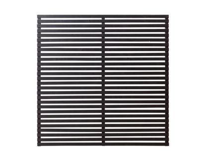 Plus Tokyo Sichtschutz-Zaun schwarz 180 x 180 cm