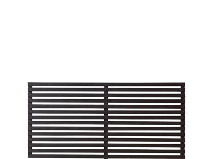 Plus Tokyo Zaun schwarz 180 x 90 cm Gartenzaun