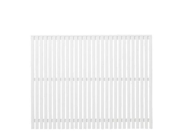 Plus Sendai Zaun Kiefer-Fichte weiss 180 × 140 cm
