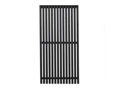 Plus Sendai Sichtschutzelement Kiefer-Fichte schwarz 90 × 180 cm