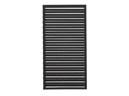 Plus Osaka Sichtschutz-Zaun Kiefer-Fichte schwarz 90 x 180 cm
