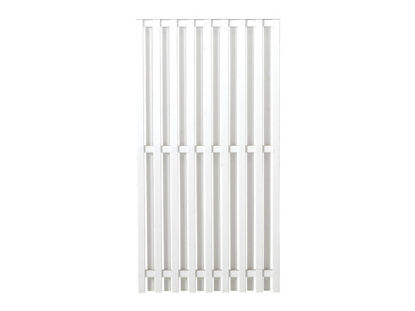 Plus Nagano Sichtschutz-Zaun Weiß 90 × 180 cm