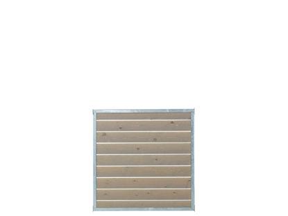 Plus Cubic Zaunelement verzinkt 90 x 90 cm