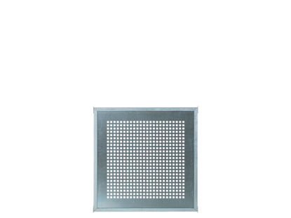 Plus Cubic Rahmenzaun mit perforierte Stahlplatte 90 x 90 cm
