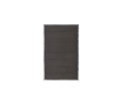Plus Futura WPC Zaun 90 × 145 cm