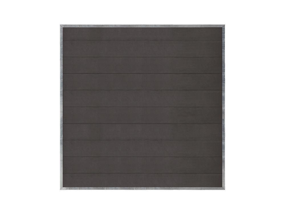 Plus Futura WPC Sichtschutzzaun 180 × 180 cm