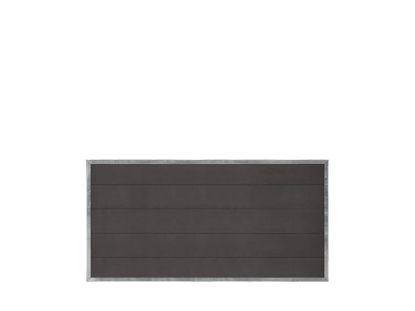 Plus Futura WPC Zaun 180 × 91 cm