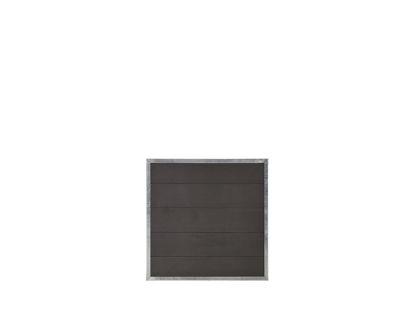 Plus Futura WPC Zaun 90 × 91 cm
