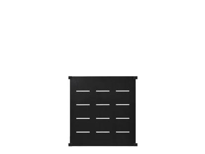 Plus Futura Deko Zaunelement für runde Stahlpfosten 90 x 91 cm