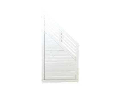 Plus Decora Übergangselement weiss grundiert 90 x 180 / 95 cm