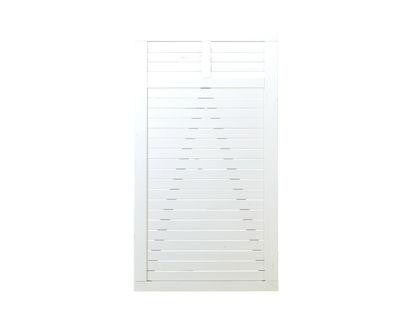 Plus Decora Einzeltor weiss grundiert 100 x 180 cm