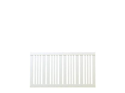 Plus Classic Zaun weiß 150 x 80 cm