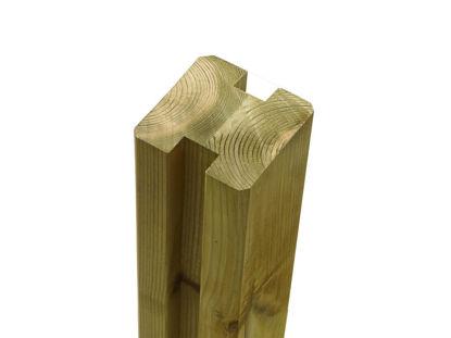 Plus Verleimter Profilpfosten 2 Nuten 9x9x186 cm KDI