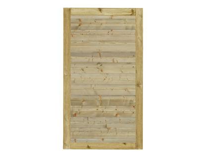 Plus Plank Gartentüre Fichte druckimprägniert 100 x 163 cm
