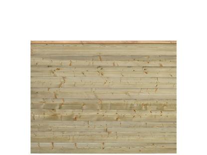 Plus Plank Profilzaun Fichte druckimprägniert 174 x 129 cm