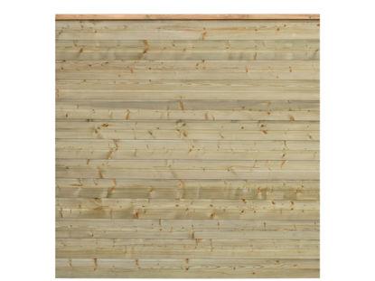 Plus Plank Profilzaun Fichte druckimprägniert 174 x 166 cm