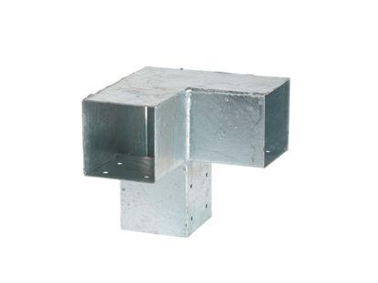 Plus Cubic Doppel-Eckbeschlag 20 x 20 x 20 cm ohne Schrauben