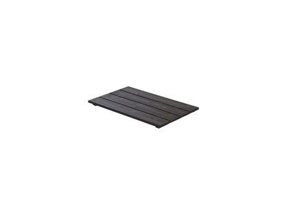 Plus Cubic Sitzplatte / Deckel für Blumenkasten 87 x 50 cm schwarz