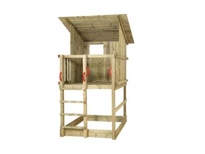 Plus Play Spielturm mit Dach 149 x 139 x 283 cm