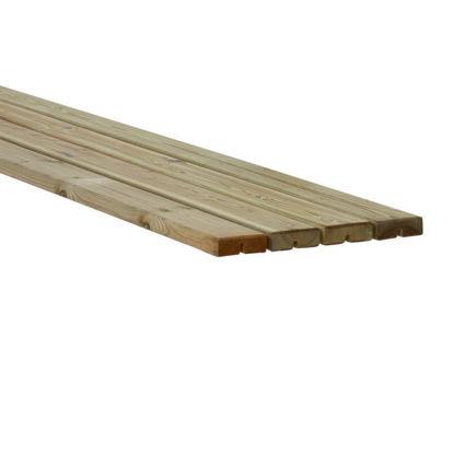 Plus Möbelplanken Set 4 x druckimprägniert 4,2 x 11,6 x 177 cm