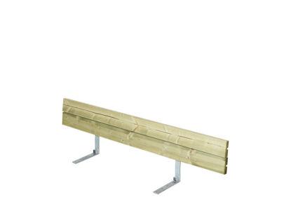 Plus Rückenlehne Kiefer-Fichte druckimprägniert für Plankenbank mit Beschlag 166 cm