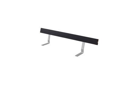 Plus Rückenlehne Kiefer-Fichte schwarz 177 cm für Royal Bank