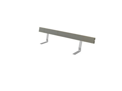 Plus Rückenlehne Kiefer-Fichte graubraun 177 cm für Royal Bank