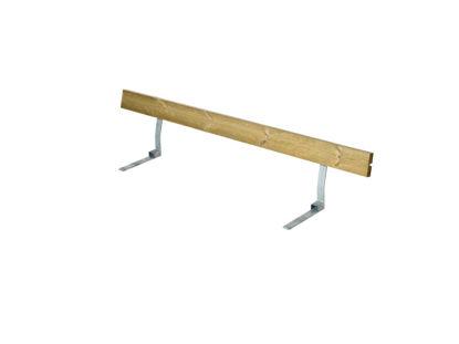 Plus Rückenlehne Kiefer-Fichte druckimprägniert für Plankenbank mit Beschlag 177 cm