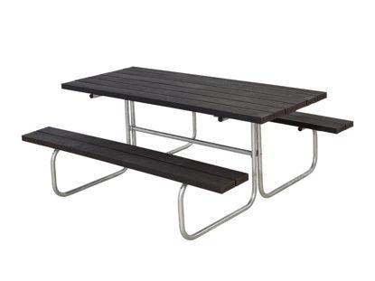 Plus Classic Kombimöbel Kunststoff schwarz 177 x 155 cm
