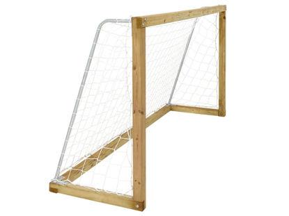 Plus Fussballtor 240 x 70 x 128 cm mit Netz