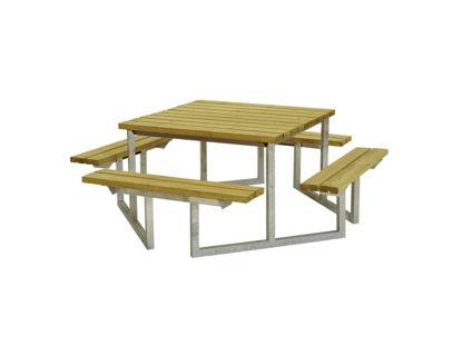 Plus Twist Sitzgruppe Kombimöbel Kiefer-Fichte druckimprägniert 204 cm