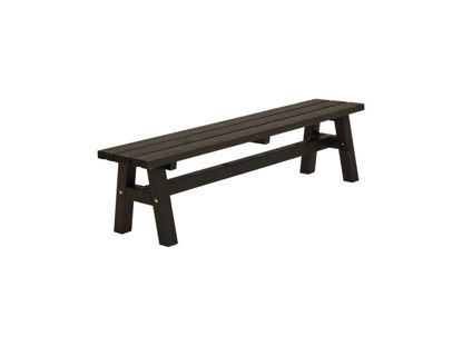 Plus Country Plankenbank 177 cm schwarz