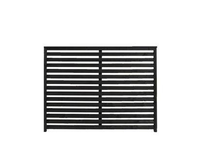 Plus Kyoto Zaun schwarz 160 x 120 cm