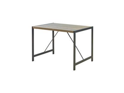 Plus Funkis Tisch 103 cm graubraun