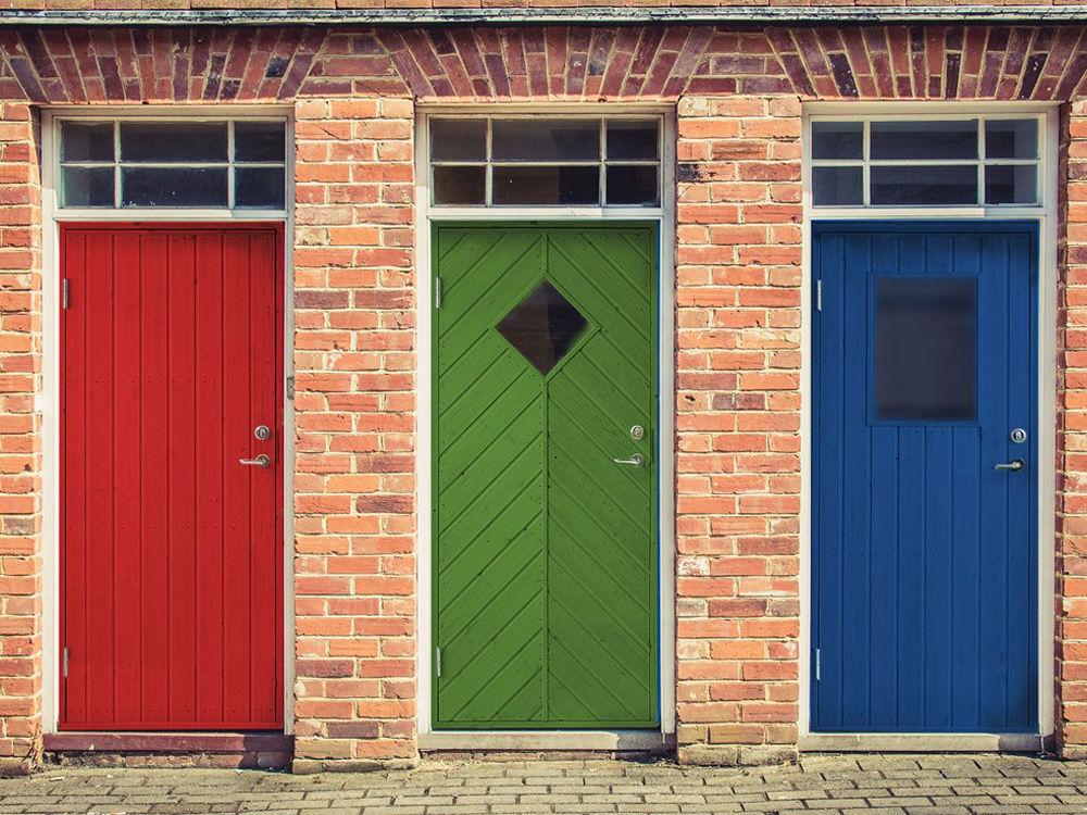 Vibo Nebeneingangstür mit Profilverkleidung und Zarge links 88,6 x 197,8 cm