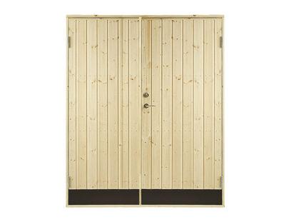 Vibo Doppel-Nebeneingangstür mit Profil und Zarge 151,2 x 187,8 cm
