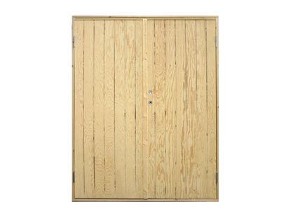 Vibo Doppel-Nebeneingangstür mit Zarge 151,2 x 197,8 cm