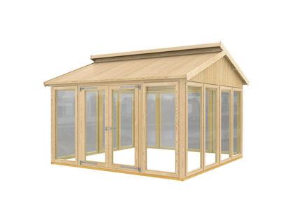 Plus Pavillon Modell 2 - 350 x 350 x 283 cm