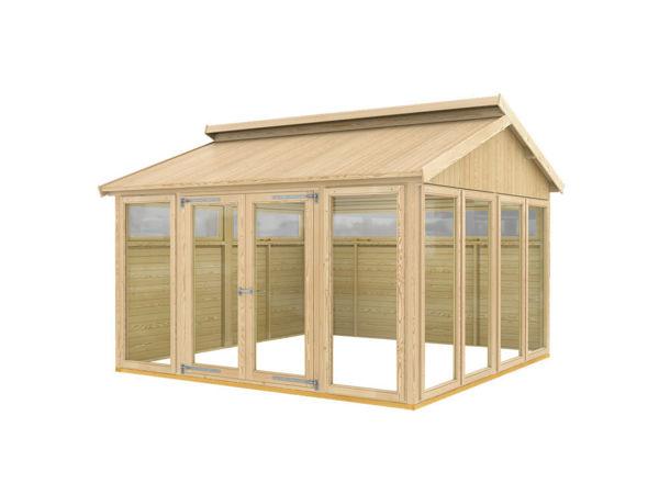 Plus Pavillon Modell 4 - 350 x 350 x 283 cm